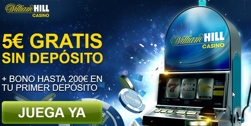 bono gratis william hill casino