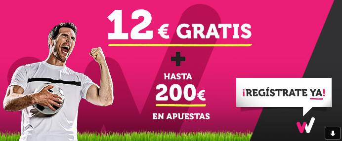 Wanabet registrate y consigue 12€ gratis